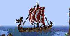 My viking warship : Minecraft