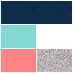 Wedding colors: Navy, (Tiffany/Pool) Blue, Coral, Silver, White