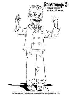 Slappy the Dummy Drawing | Mundo D' Mark 4 | Dibujos