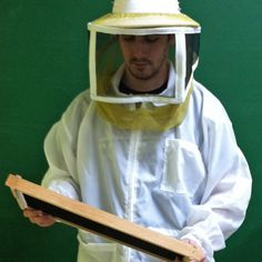 Protect yourself while #beekeeping with some of our #protective wear. #BeeWell http://beewellhoneyfarm.com/product-category/beekeeping-supplies/protective-beekeeper-wear/