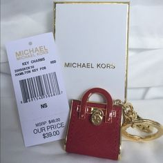 Michael Kors Key Chain Brand New 100% Authentic Michael Kors Key Chain Michael Kors Accessories Key & Card Holders