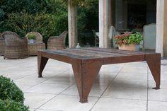 table old oak & iron | Dirk Cousaert