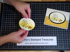 How to make a gatefold card with a twist - Interlocking Gatefold - YouTube