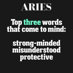 quotes about ariess astrology