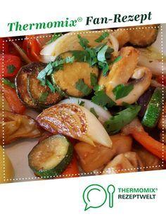Marinade für Grill-Gemüse. Rezept des Tages vom 28.07.2016 von la lunica strega. Ein Thermomix ® Rezept aus der Kategorie Hauptgerichte mit Gemüse auf www.rezeptwelt.de, der Thermomix ® Community.