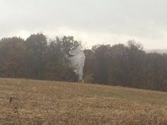 The military surveillance blimp that broke free of its mooring at a U.S. Army base in Maryland has landed near Williamsport.