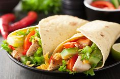 Healthy Recipes For Pregnant Women - Chicken Salad Wraps