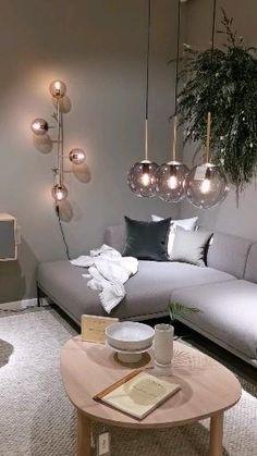 Scandinavian design and interior. Living room inspiration. Filmed by Mauritz Interior & Design at Bolia Bodø. Norge.