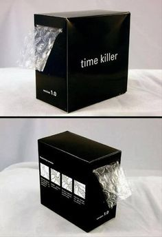 A handy time-killer....#BubbleWrap!