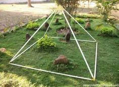 Image result for PVC pipe pyramid