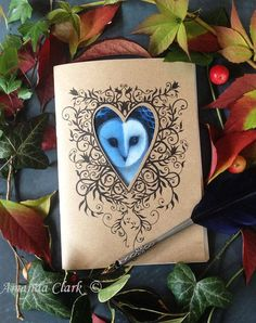 Note book, decorative art, journal, arty gifts, stocking fillers, xmas gifts £7.50 plus shipping VAT included (where applicable). #affiliate #art