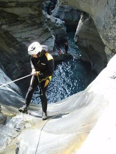 Canyoning Tour Boggera im sonnigen Tessin