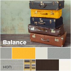 Yellow. The whimsical yin to gray's professional yang. Together, they bring hip harmony to any workplace. Office design inspiration from The HON Company.