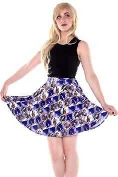 Bounty Hunters Skater Skirt