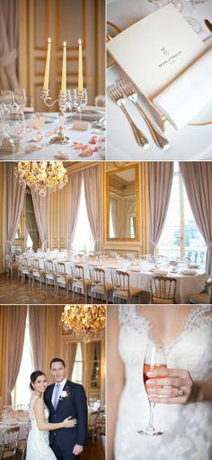Perfect Paris intimate destination wedding! Planned & stylized by Rendez-vous in Paris Photography by Le Secret d'Audrey