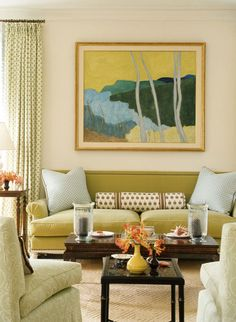 :: Ashley Whittaker Design :: Oh my, is this a Milton Avery? Hmmm...maybe his wife's work... Sally Michel?