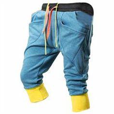 #Unique-Bargains          #ApparelBottoms           #Drawstring #Slant #Pockets #Harem #Modern #Trousers #Light #Blue             Man Drawstring Slant Pockets Harem Modern Trousers Light Blue W30                                       http://www.seapai.com/product.aspx?PID=8049875
