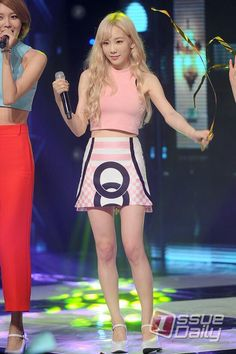 150826 Taeyeon SNSD - Lion Heart @Show Champion