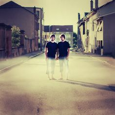 Seeing Double: Dreamlike Symmetrical Portraits of Identical Twins