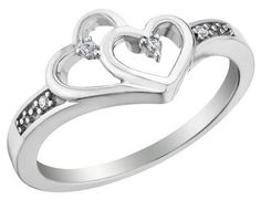Oh look!!! Two hearts connected as one!!!!!! Such a cute promise ring!!!!!