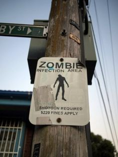 Zombie Infection Area