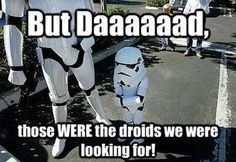 When Stormtroopers take their kids to work - Star Wars
