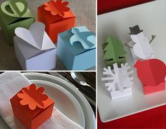 paper gift box templates