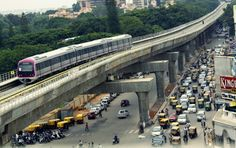 Bangalore Metro from MG Road