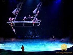 """""""O"""" by Cirque du Soleil - Bateau"""