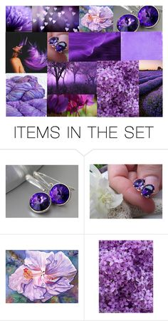 """Lavender Fields"" by crystalglowdesign ❤ liked on Polyvore featuring art"