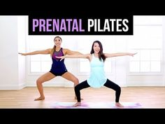 Barefoot & Pregnant Pilates Dance Workout: What to Expect When You're Expecting- Heidi Murkoff - YouTube