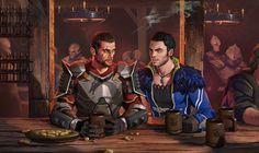 Tavern Hopping- Dragon Effect by AndrewRyanArt.deviantart.com on @deviantART