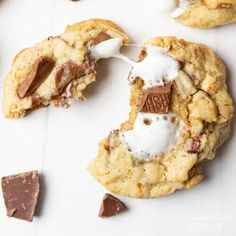S'mores cookies are soft, chewy, and jam-packed with all the classic s'mores fixin's! Chewy, gooey, and chocolatey smores cookies are truly irresistible little bites of heaven. Packed with marshmallows, chocolate, and graham crackers, these cookies are a year-round treat for your taste buds! Smores cookies are soft, chewy, and jam-packed with all the classic smores fixins. These are great when its a bit too chilly to get the campfire going, but youre craving a smore.
