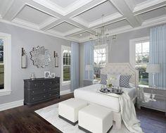 "1,564 Me gusta, 11 comentarios - ✨Jeana✨ (@luv_2_decorate) en Instagram: ""Happy Friday! Just sharing one of my favorite bedroom designs.✨ This beautiful room was virtually…"""