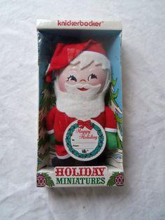 1973 Knickerbocker Toy Santa Doll Unopened in by berryetsy on Etsy, $12.00