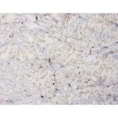 White granite - the new alternative to marble in the kitchen. Class without the maintenance.