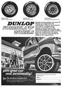 Dunlop Formula D Ad 1970