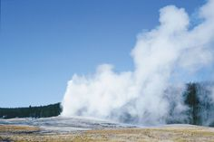 Its geysers, its free-roaming bison and grizzly bears and its name made #Yellowstone National Park one of America's most popular park! We spent time here during The Great Passage (our move from Michigan to California), so it holds a special place in my heart. It is truly an AWEsome place.