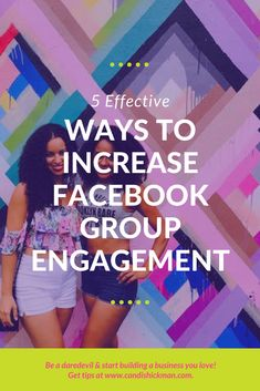 5 Effective Ways To Increase Facebook Group Engagement // Candis Hickman