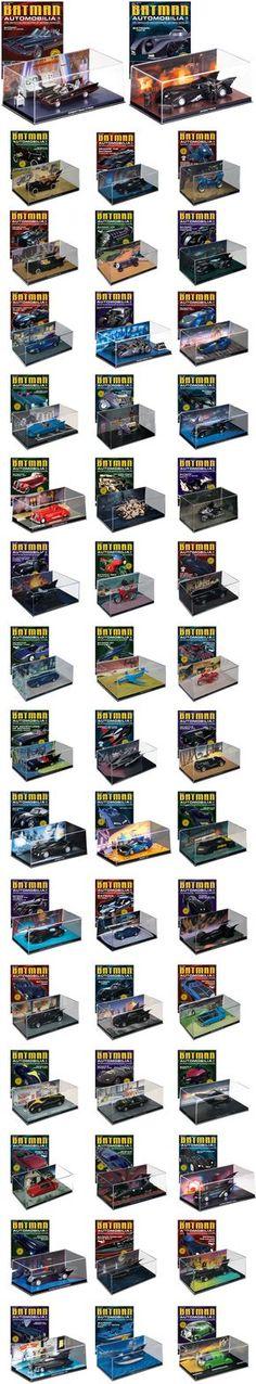 Batman Automobilia é mais uma super coleção desse herói que dispensa apresentações. Não deixe de conferir esta novidade!