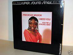 PRECIOUS WILSON -  I Need You *Disco 84*Hansa*12 MAXI ö