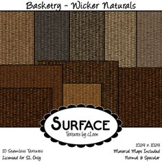 Surface - Basketry - Wicker Naturals Contact | Flickr - Photo Sharing!