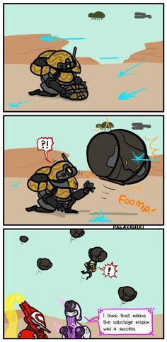 Ever wonder what happens after sabotage missions?