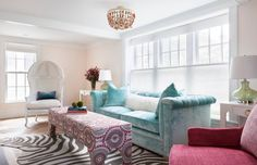 House of Turquoise: Yorgos Efthymiadis Reiko Feng Shui Design : The most amazing sofa in all of the land Pastel Living Room, Living Room New York, Colourful Living Room, Living Room Decor Cozy, Living Room Sofa, Feng Shui, Style Deco, Comfortable Sofa, Cheap Home Decor