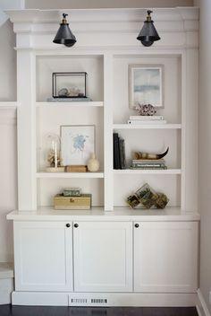 Asymetrical shelves