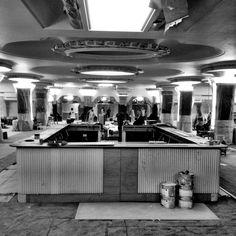 The bar in progress