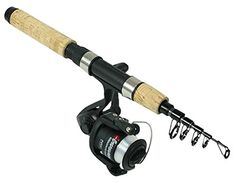 Travel Rod, Rod And Reel, Carp, Telescope, Fly Fishing, Search, Mini, Unique, Green
