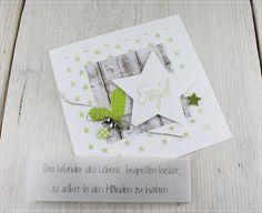 Danke für eure lieben Worte zu den Weihnachtskarten, freut mich, dass sie euch gefallen. :-) Heute habe ich eine Musterkarte für eine...