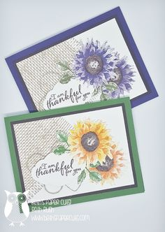 Stampin' Up! demonstrator shows how to create fun cards and scrapbook pages using Stampin' Up! products
