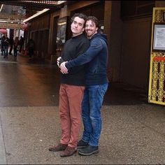 Something Rotten Christian Borle and Brian D'Arcy James